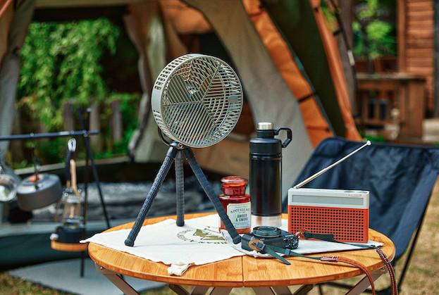 트리플 블랙의 아웃도어 캠핑용 선풍기 '윈드 고릴라'