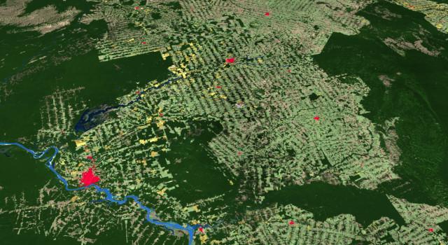 에스리가 고해상도의 새로운 2020 세계 토지 피복 지도를 처음 공개한다