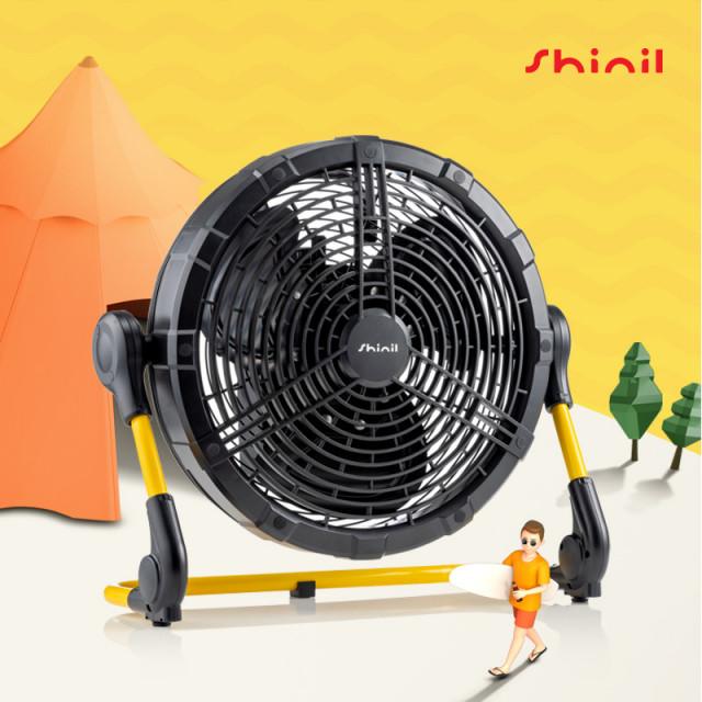 신일전자가 출시한 캠핑용 무선 선풍기 캠핑 FAN