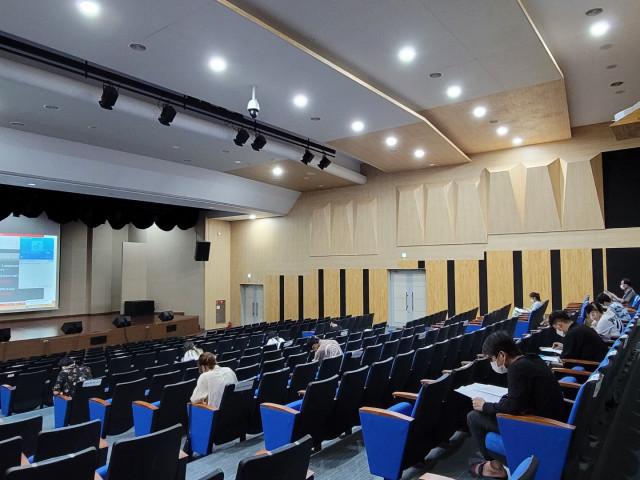 국제대학교에서 시행한 제3회 KBSKLT 시험