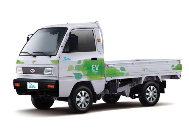 파워프라자 경형 전기화물차(0.5톤) 라보ev피스