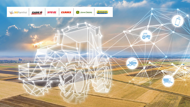 데이터커넥트는 CNH 인더스트리얼, 존 디어, 클라스 및 365팜넷의 협력을 통한 결과물로 하나의 플랫폼에서 다양한 브랜드의 농기계 차량을 볼 수 있게 해준다