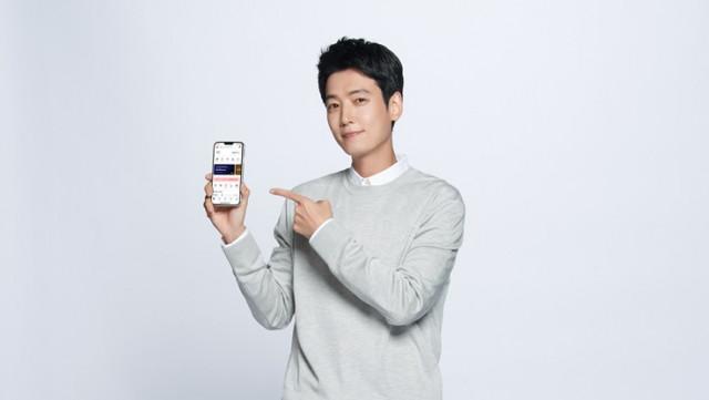 샵백 홍보 모델로 배우 정경호가 발탁됐다