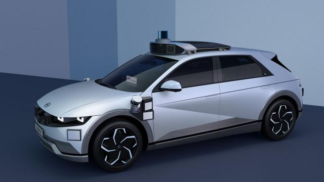 현대자동차그룹이 공개한 아이오닉 5 기반 로보택시