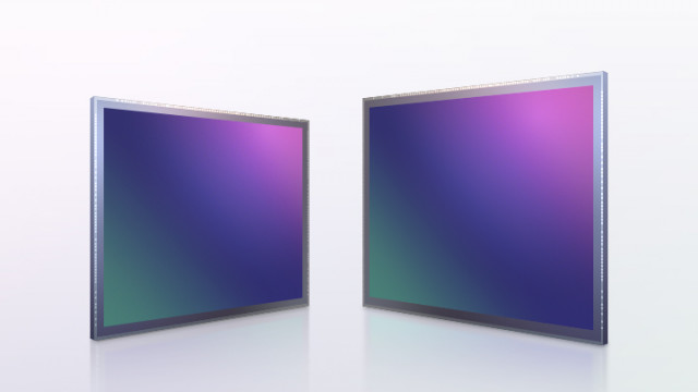 왼쪽부터 삼성전자 모바일 이미지센서 '아이소셀 GN5'과 '아이소셀 HP1'