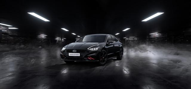현대자동차 쏘나타 N 라인 더 블랙