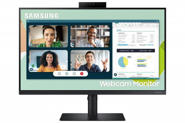 삼성전자가 출시한 웹캠 모니터