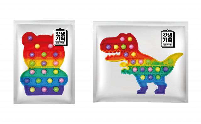 GS25가 팝잇을 활용해 기획한 '팝잇진주캔디'
