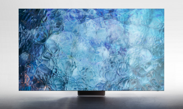 국제 디자인 공모전 IDEA 2021에서 은상을 수상한 삼성전자 TV Neo QLED 8K