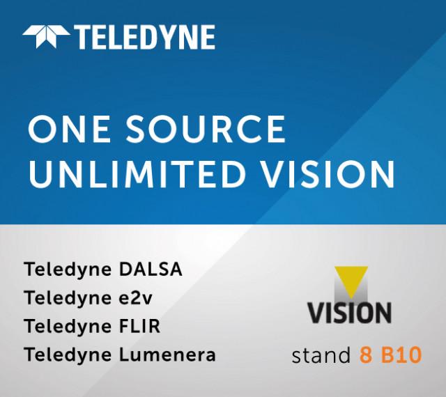 Teledyne이 Vision 2021에서 최신 이미징 기술을 전시한다