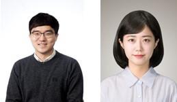 왼쪽부터 서울대학교 산업공학과 이윤영 연구원, 숭실대학교 금융학부 장희수 교수