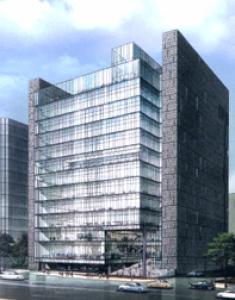 신축중인 '휴맥스빌리지'빌딩 (사진제공: 교보리얼코)
