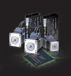 지능형 로봇의 관절 움직임을 책임지는 모터 드라이브인 폐루프 고기능 서보 시스템, Ezi-SERVO는 고기능 DSP 및 고정밀 엔코더를 통해 개발되었다 (사진제공: 파스텍)