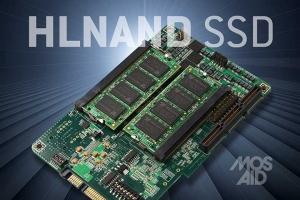 MOSAID의 HLNAND SSD 프로토타입 (사진제공: MOSAID Technologies)