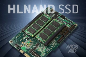 MOSAID's HLNAND SSD prototype (사진제공: MOSAID Technologies)