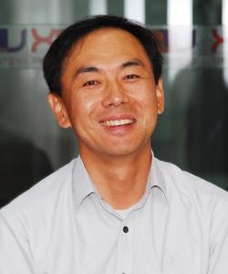 라오스 증권거래소 전산망을 구축한 코스콤 해외개발TF팀 김계영 팀장 (사진제공: 아세안투데이)