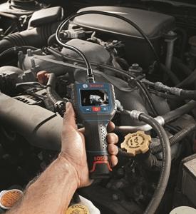 보쉬 전동공구사업부는 리튬이온 충전 산업용 내시경 GOS 10.8V-LI 을 출시했다. (사진제공: 한국로버트보쉬)