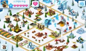 아이스 에이지: 빌리지가 앱스토어에 출시됐다 (사진제공: 게임로프트)