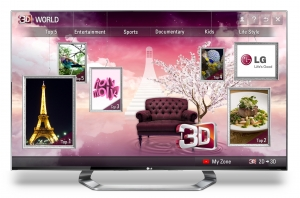 LG ANNOUNCES GLOBAL LAUNCH OF 3D WORLD, NEXT GENERATION PREMIUM 3D CONTENT SERVICE (사진제공: LG전자)