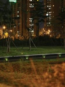 명진인텍가 개발한 LED 시선유도등이 특허를 획득했다 (사진제공: 명진인텍)