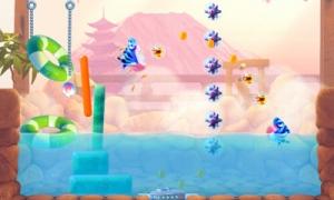 모바일 게임 샤크 대쉬가 앱스토어와 T스토어를 통해 동시에 출시됐다 (사진제공: 게임로프트)