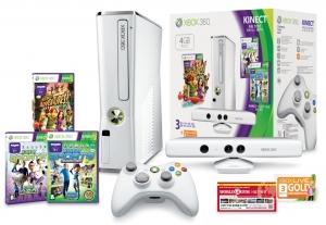 Xbox 360 4GB 키넥트 피트니스 패키지 (사진제공: 한국마이크로소프트)