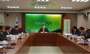 청주시 '2012 지방세정운영 보고회' (사진제공: 청주시청)