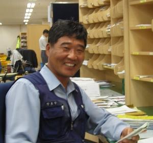 안호상 집배원 사진 (사진제공: 우정사업본부)