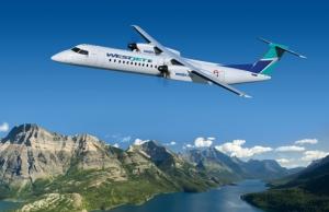 WestJet, Bombardier Q400 NextGen 여객기를 선택하다 (사진제공: Bombardier)