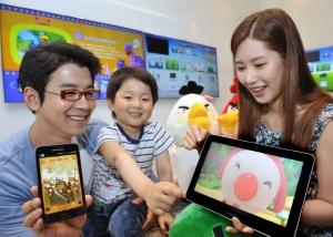 삼성전자는 5월 5일 어린이날을 맞아 아이들과 함께 더욱 즐겁게 보낼 수 있는   스마트 기기용 컨텐츠를 삼성앱스를 통해 다양하게 제공한다. (사진제공: 삼성전자)