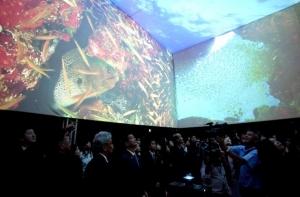 태국관, 360도 태국바다 체험 (사진제공: 여수세계박람회 태국관 운영위원회)