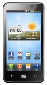 LG Optimus LTE 정면 (사진제공: LG전자)