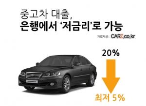 저렴한 중고차, 대출금리도 '싸게' (사진제공: 카즈)