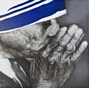 스탠다드차타드와 함께하는 코리안아이 2012_강형구作 테레사 수녀 (사진제공: 한국스탠다드차타드은행)