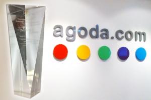 아고다(agoda.com), 트래블몰 및 아이포트래블의 2012년 온라인 트래블 이노베이션 어워드에서 '페이버릿 온라인 트래블 사이트' 상장 수상! (사진제공: 아고다)