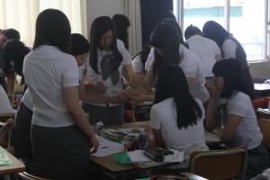 지산교육은 자기주도학습 중점학교로 선정된 대구 경명여자고등학교 학생들을 대상으로 자기주도학습 코칭 교육인 '2012년 경명여고 드림멘토링캠프'를 실시했다. (사진제공: 지산교육)