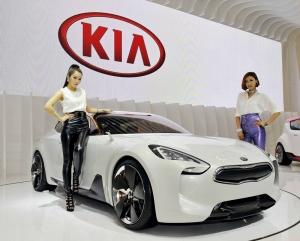 기아자동차가 벡스코에서 개최되는 '2012 부산국제모터쇼(이하 부산모터쇼)'에 2,500㎡(약 760평) 면적의 전시장을 마련하고 Kia GT, 트랙스터, 네모 등 콘셉트카와 럭셔리 대형 세단 K9을 포함한 양산차 및 신기술을 전시한다. (사진제공: 기아자동차)