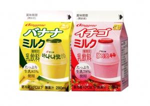 빙그레 바나나맛우유와 딸기맛우유가 6월 1일 일본 시장에 본격적으로 진출한다. (사진제공: 빙그레)