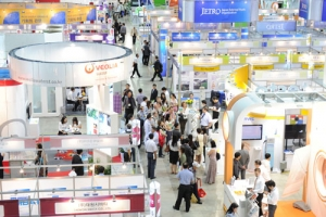 ENVEX2012 전시회 전경 (사진제공: 환경보전협회)