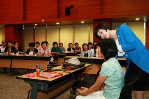 서울우정청은 우체국보험 설계사를 위한 차밍스쿨을 열었다. (사진제공: 서울지방우정청)