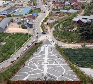 봉하마을전경 (사진제공: 다인스)