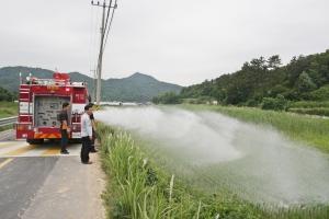 광주시, 가뭄 극복 비상급수 실시 (사진제공: 광주광역시청)