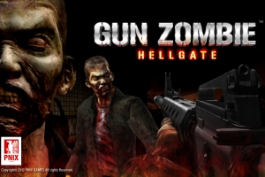 PNIX Games' new FPS (first-person-shooter) game 'Gun Zombie: Hell Gate' (사진제공: 피닉스게임즈)