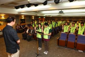 관광공사는 7월 5일(목) 오전 10시 관광공사 지하 1층 TIC에서 대학생 관광기자단 트래블 리더 4기 발대식을 개최하였다. (사진제공: 한국관광공사)