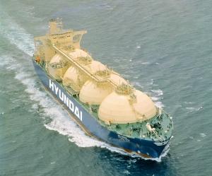 현대상선 친화경선박 LNG선 현대 그린피아호 (사진제공: 현대상선)