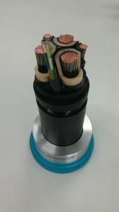 LS전선 이동용 중장비 MV 전력 공급용 및 모니터링 광복합케이블 (사진제공: LS전선)