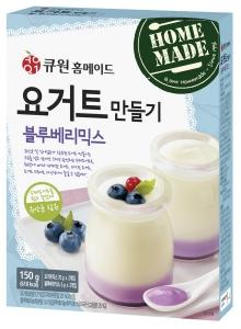 삼양사, 큐원 홈메이드 '요거트만들기 블루베리믹스' 출시 (사진제공: 삼양홀딩스)