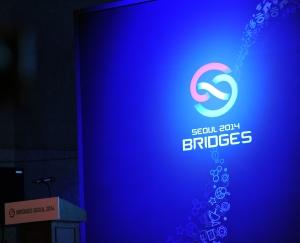 브리지스 서울 2014 공식 엠블럼이다. (사진제공: 국립과천과학관)