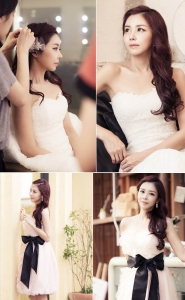 렛미인 김희은이 세상에서 가장 아름다운 신부로 화제를 모으고 있다. (사진제공: 페이스라인 성형외과)