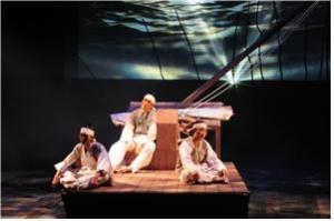 마당극 홍어장수 문순득 표류기가 무안 승달문화예술회관 대극장에서 열린다. (사진제공: 극단갯돌)